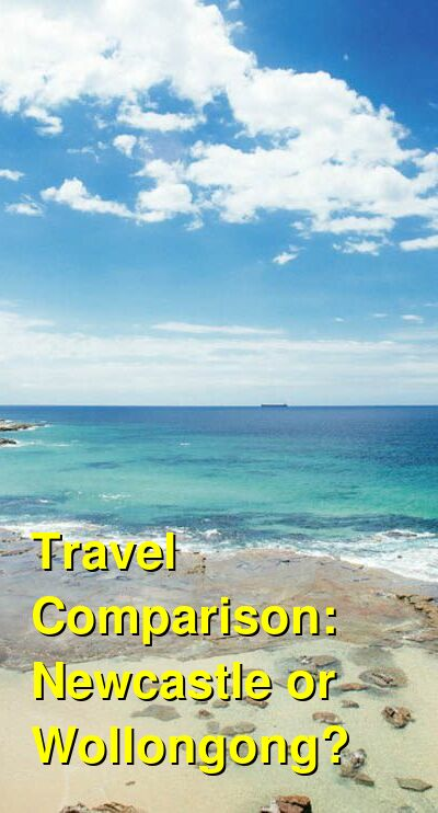 Newcastle vs. Wollongong Travel Comparison