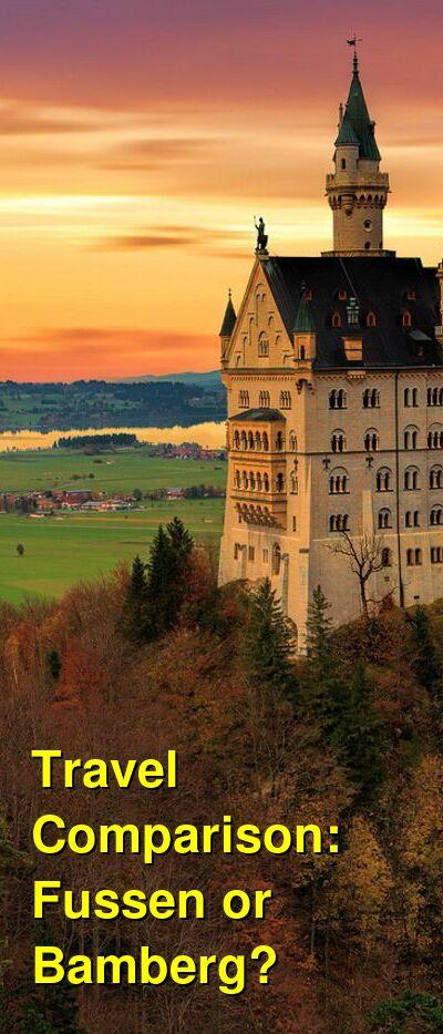 Fussen vs. Bamberg Travel Comparison