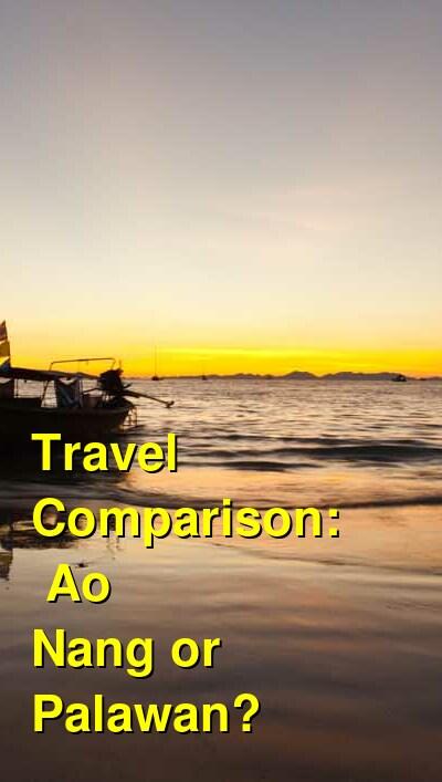 Ao Nang vs. Palawan Travel Comparison