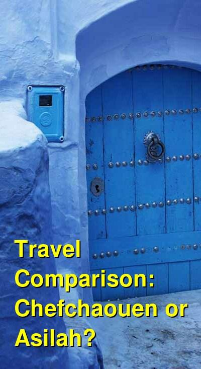 Chefchaouen vs. Asilah Travel Comparison