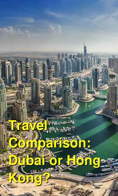 Dubai vs. Hong Kong Travel Comparison