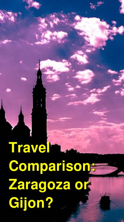 Zaragoza vs. Gijon Travel Comparison