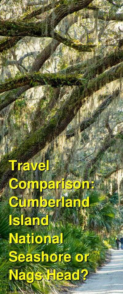 Cumberland Island National Seashore vs. Nags Head Travel Comparison