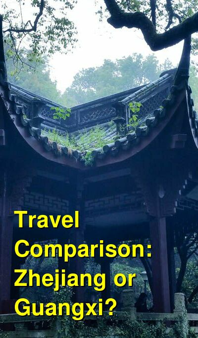 Zhejiang vs. Guangxi Travel Comparison