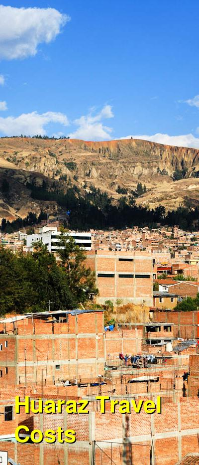 Huaraz Travel Cost - Average Price of a Vacation to Huaraz: Food & Meal Budget, Daily & Weekly Expenses | BudgetYourTrip.com
