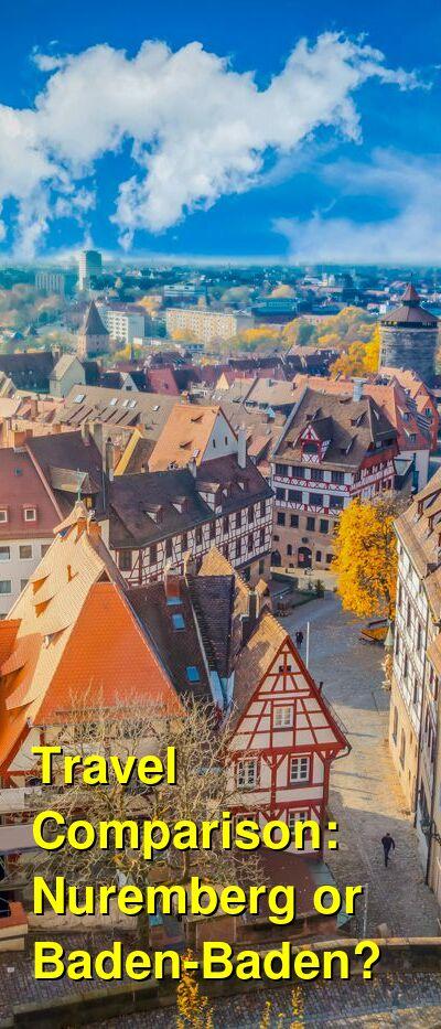 Nuremberg vs. Baden-Baden Travel Comparison