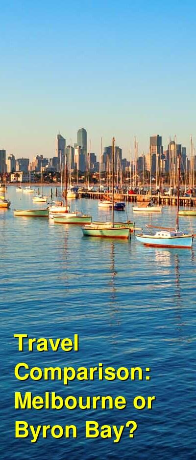 Melbourne vs. Byron Bay Travel Comparison