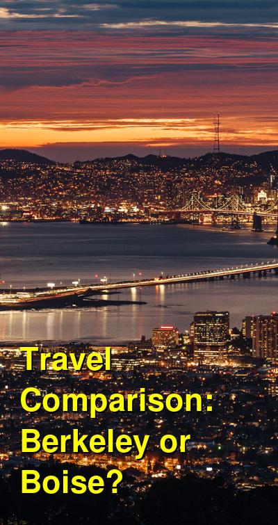 Berkeley vs. Boise Travel Comparison