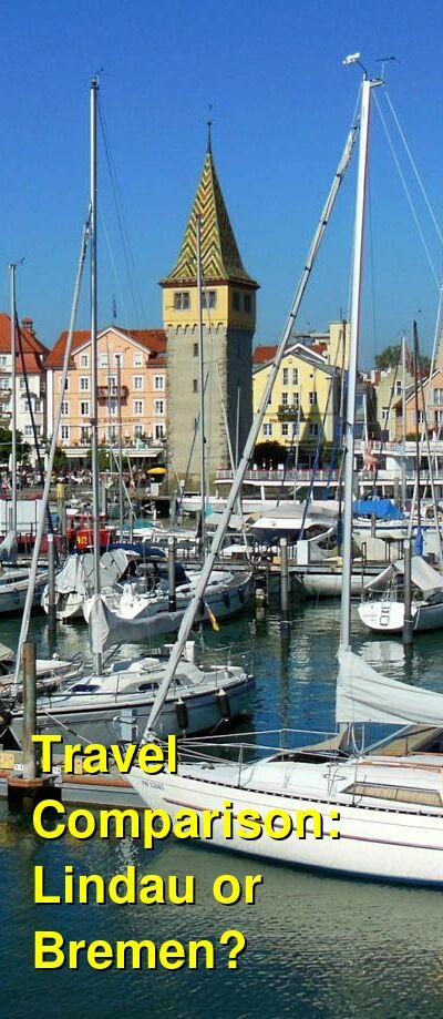 Lindau vs. Bremen Travel Comparison