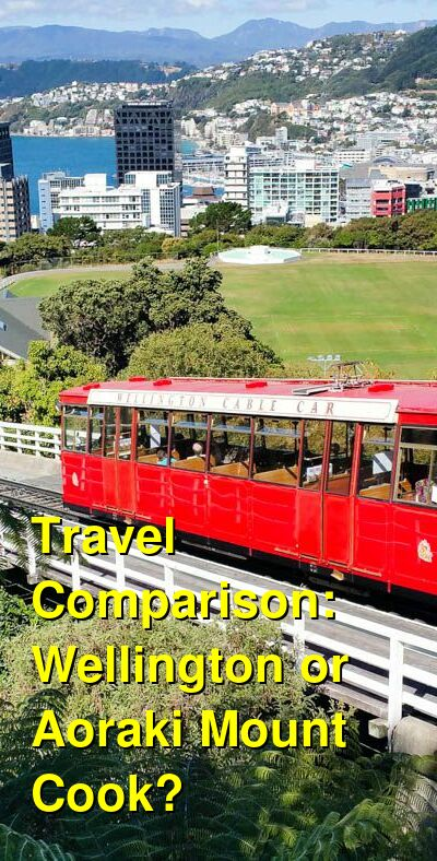 Wellington vs. Aoraki Mount Cook Travel Comparison