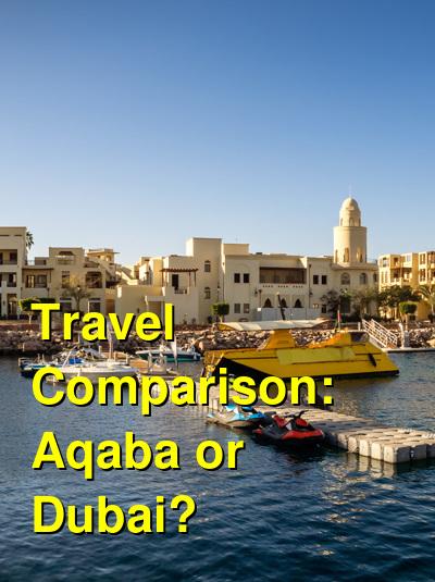 Aqaba vs. Dubai Travel Comparison