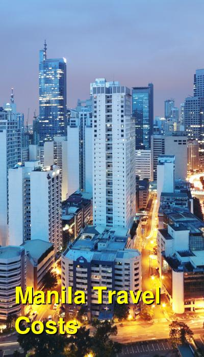 Manila Travel Cost - Average Price of a Vacation to Manila: Food & Meal Budget, Daily & Weekly Expenses | BudgetYourTrip.com