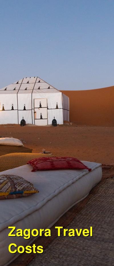 Zagora Travel Cost - Average Price of a Vacation to Zagora: Food & Meal Budget, Daily & Weekly Expenses | BudgetYourTrip.com