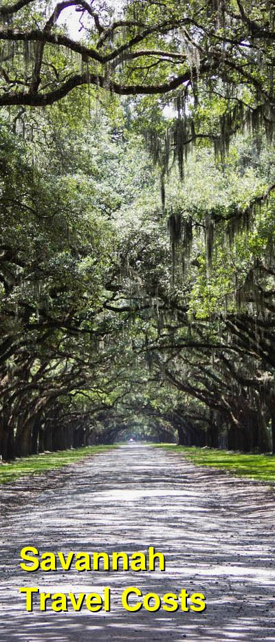 Savannah Travel Cost - Average Price of a Vacation to Savannah: Food & Meal Budget, Daily & Weekly Expenses | BudgetYourTrip.com