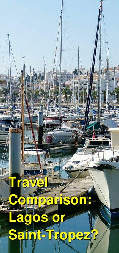 Lagos vs. Saint-Tropez Travel Comparison