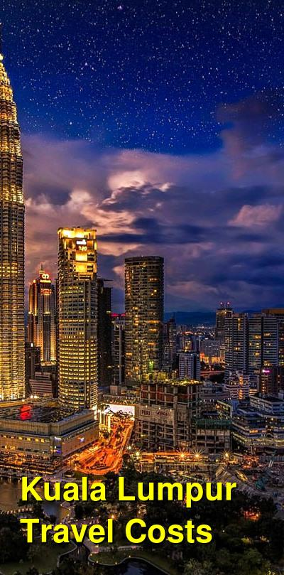 Kuala Lumpur Travel Cost - Average Price of a Vacation to Kuala Lumpur: Food & Meal Budget, Daily & Weekly Expenses | BudgetYourTrip.com