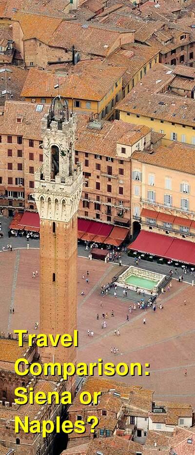 Siena vs. Naples Travel Comparison