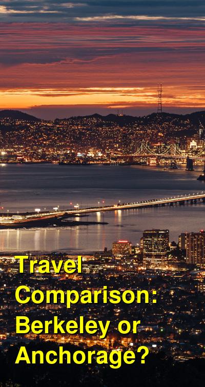 Berkeley vs. Anchorage Travel Comparison