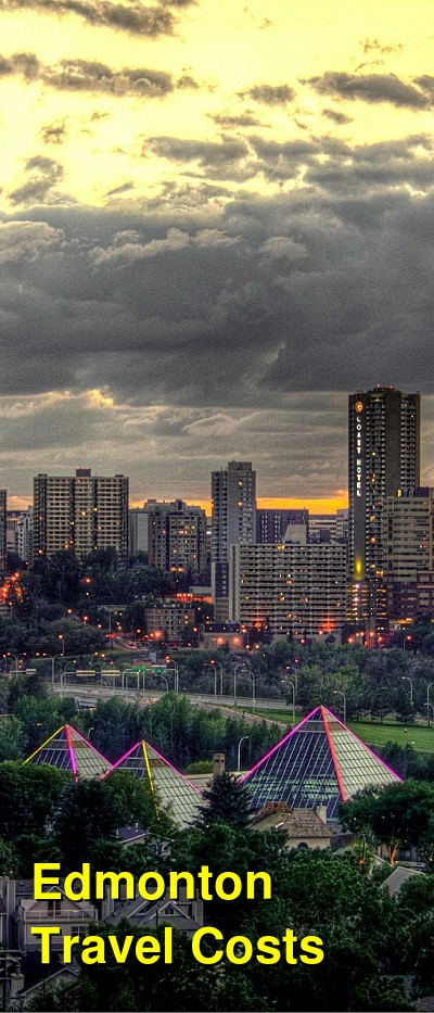 Edmonton Travel Cost - Average Price of a Vacation to Edmonton: Food & Meal Budget, Daily & Weekly Expenses | BudgetYourTrip.com