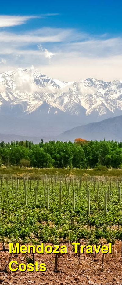 Mendoza Travel Cost - Average Price of a Vacation to Mendoza: Food & Meal Budget, Daily & Weekly Expenses | BudgetYourTrip.com