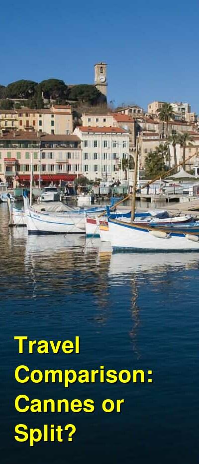 Cannes vs. Split Travel Comparison