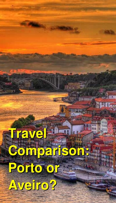 Porto vs. Aveiro Travel Comparison