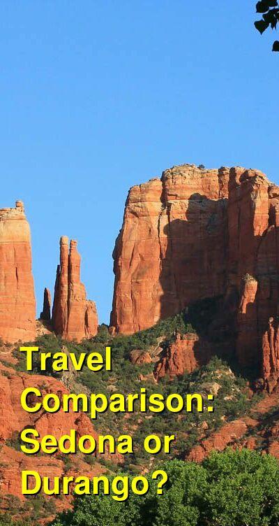 Sedona vs. Durango Travel Comparison