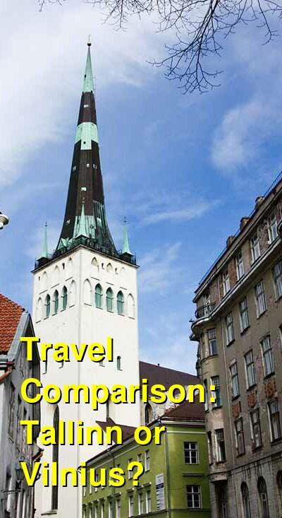 Tallinn vs. Vilnius Travel Comparison