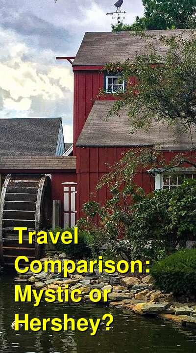 Mystic vs. Hershey Travel Comparison