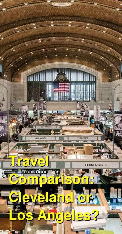 Cleveland vs. Los Angeles Travel Comparison