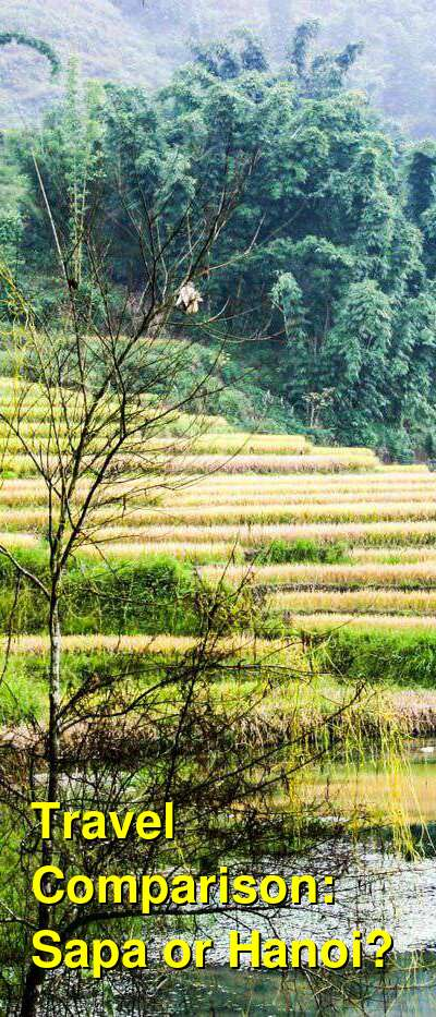 Sapa vs. Hanoi Travel Comparison