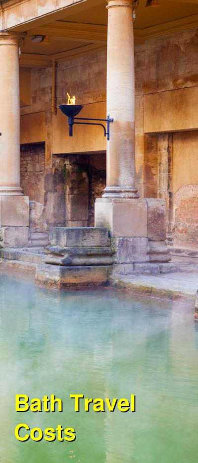 Bath Travel Costs & Prices - Roman Baths, Hot Springs & The Thermae Bath Spa | BudgetYourTrip.com