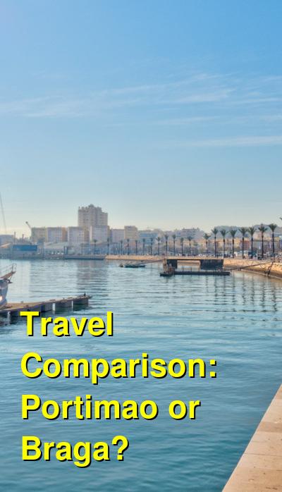 Portimao vs. Braga Travel Comparison