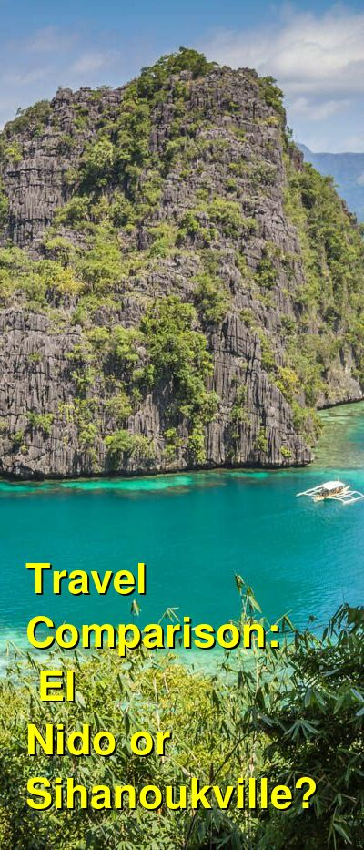 El Nido vs. Sihanoukville Travel Comparison