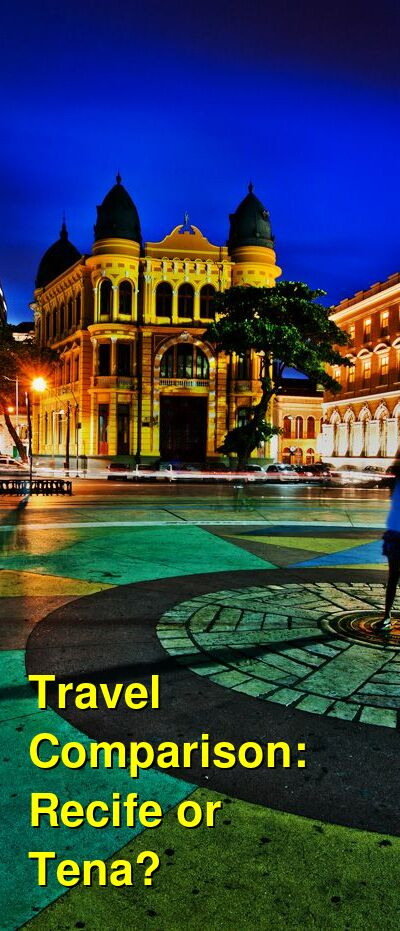 Recife vs. Tena Travel Comparison