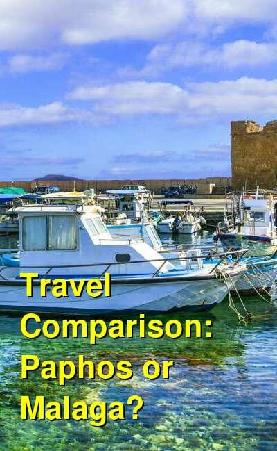 Paphos vs. Malaga Travel Comparison