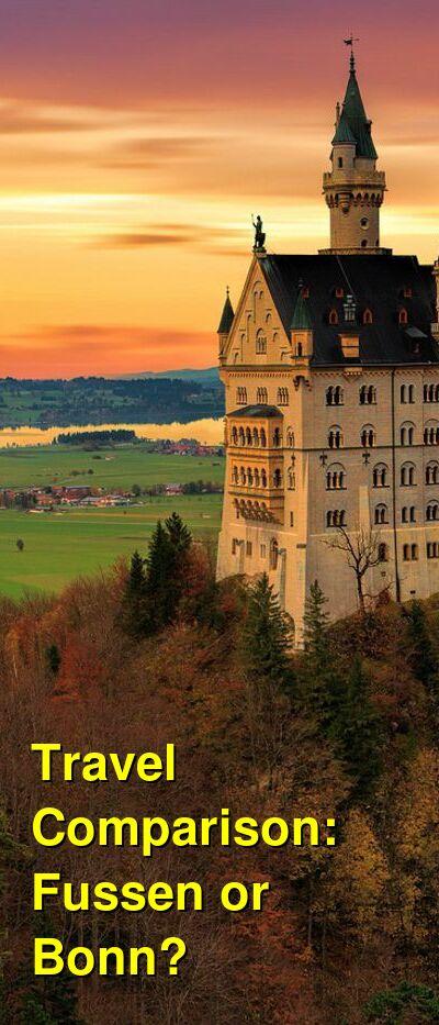 Fussen vs. Bonn Travel Comparison