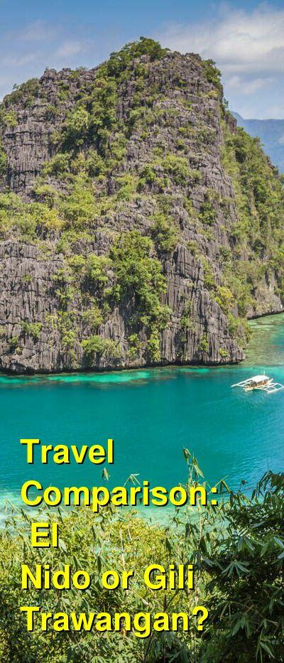 El Nido vs. Gili Trawangan Travel Comparison