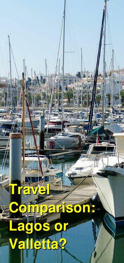 Lagos vs. Valletta Travel Comparison