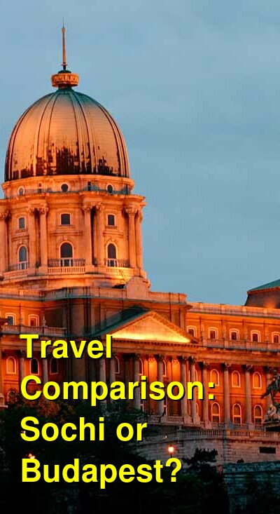 Sochi vs. Budapest Travel Comparison