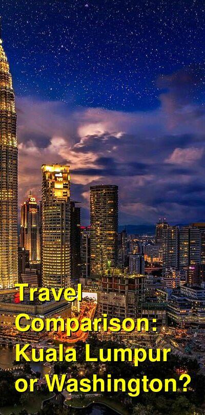 Kuala Lumpur vs. Washington Travel Comparison