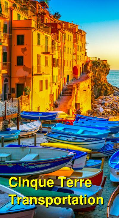 Getting Around Cinque Terre by Ferry Boat, Express Train, or on Foot | Budget Your Trip