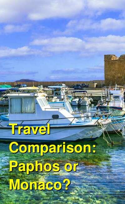 Paphos vs. Monaco Travel Comparison