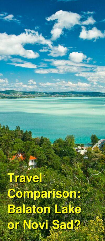 Balaton Lake vs. Novi Sad Travel Comparison