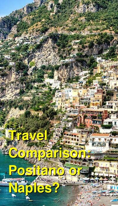 Positano vs. Naples Travel Comparison