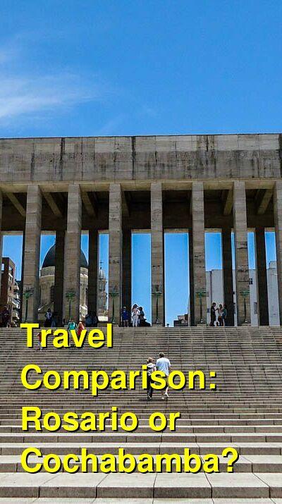 Rosario vs. Cochabamba Travel Comparison