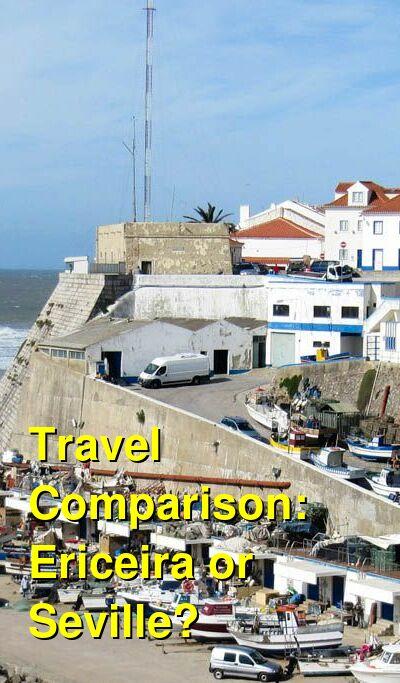 Ericeira vs. Seville Travel Comparison