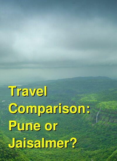 Pune vs. Jaisalmer Travel Comparison