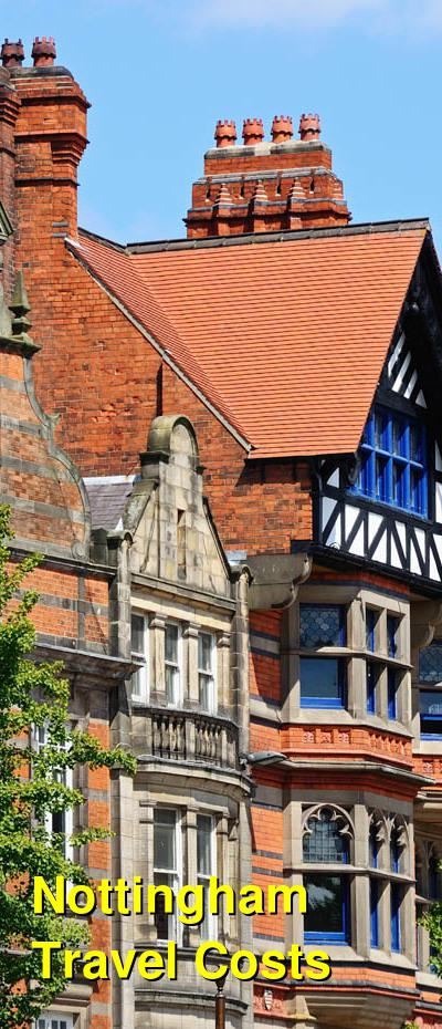 Nottingham Travel Costs & Prices - Castle Rock, Robin Hood, Shopping, Dining | BudgetYourTrip.com