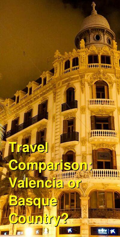 Valencia vs. Basque Country Travel Comparison